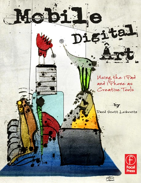Mobile Digital Art, Book Cover