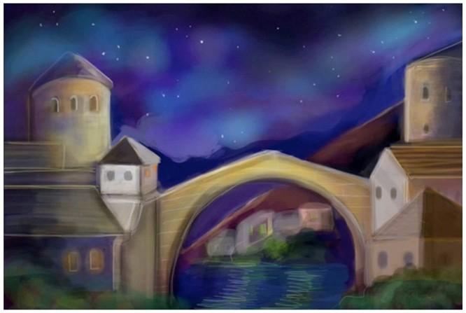 "Photo of ""Old Bridge of Mostar"" by Roberta Barbarić"